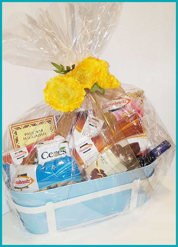 Passover Food Drive Gift Baskets $110